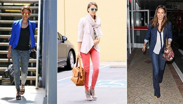 Curator Love: Do Denim Like Jessica Alba