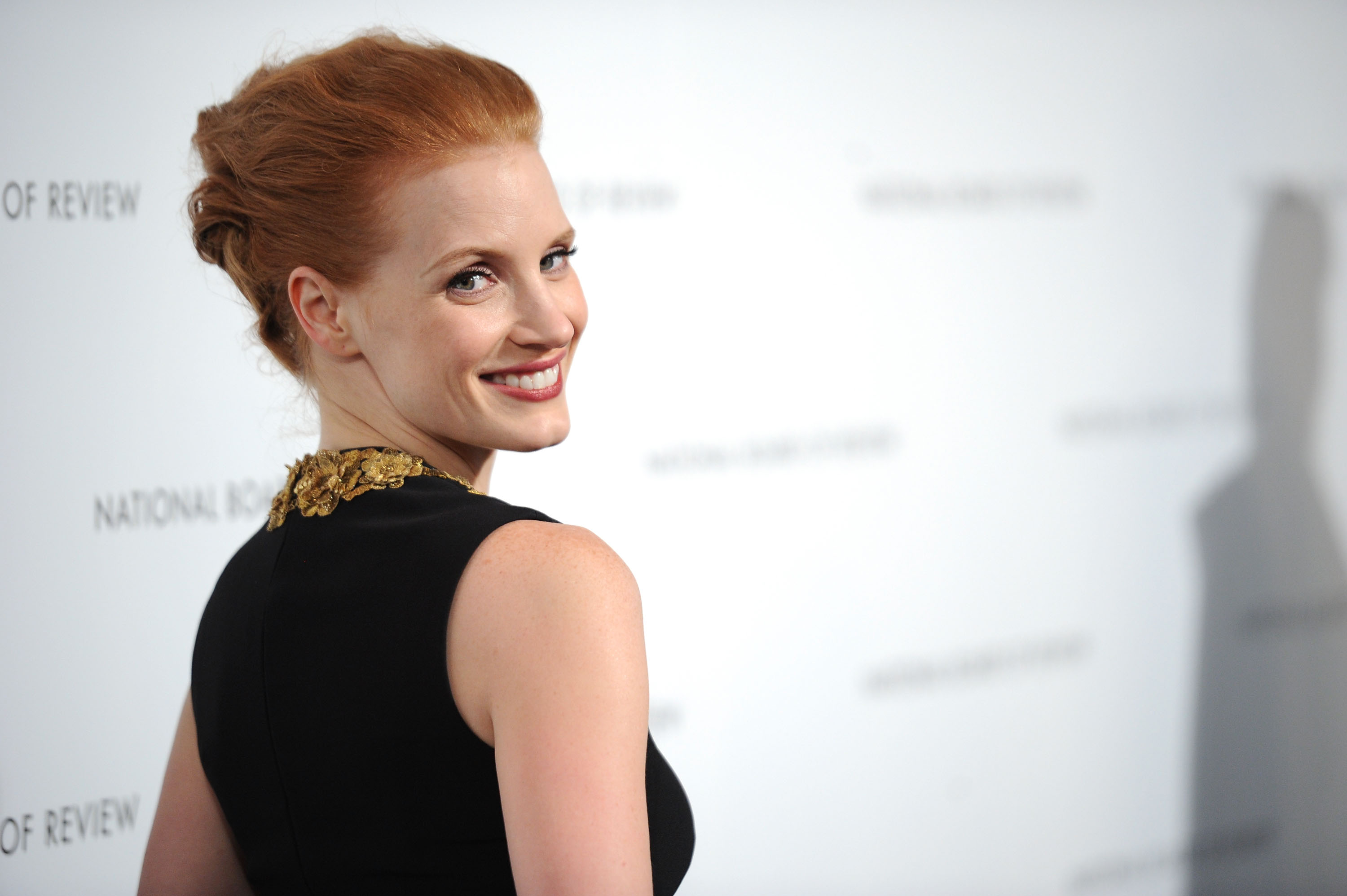 Jessica Chastain Dishes on Her Oscars Dress