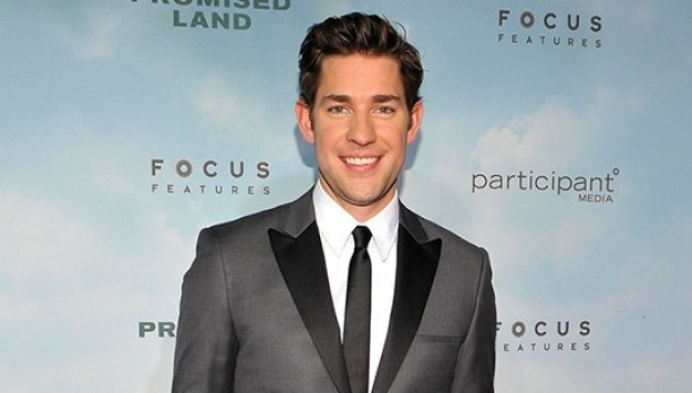 Look of the Day: John Krasinski Rockin' Calvin Klein