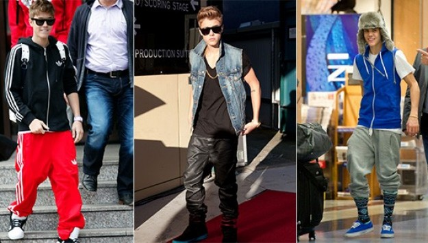 The 9 Ugliest Pants Justin Bieber Wore in 2012