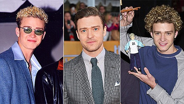 From 1998-2013: Justin Timberlake's 10 Best Hairstyles