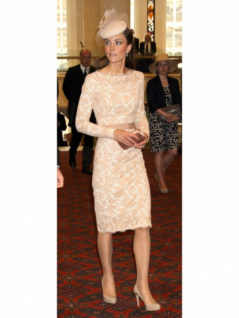 Galerry lace dress kate middleton