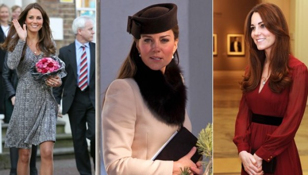 Kate Middleton Looks Maternity Chic at Swiss Wedding