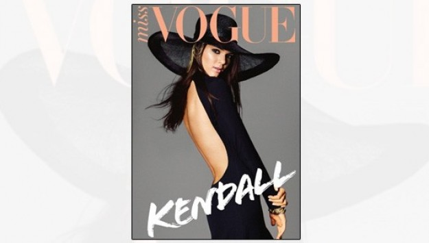 Kendall Jenner Shines on the Cover of Miss Vogue Australia