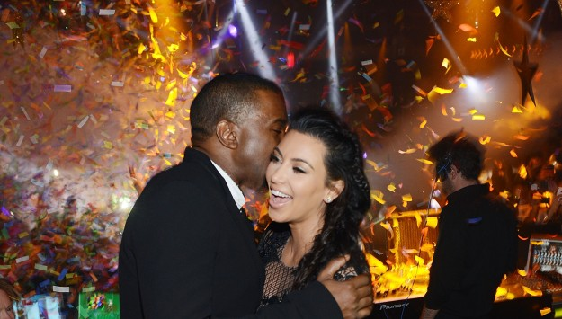 Kim K's Revealing New Year's Eve Dress