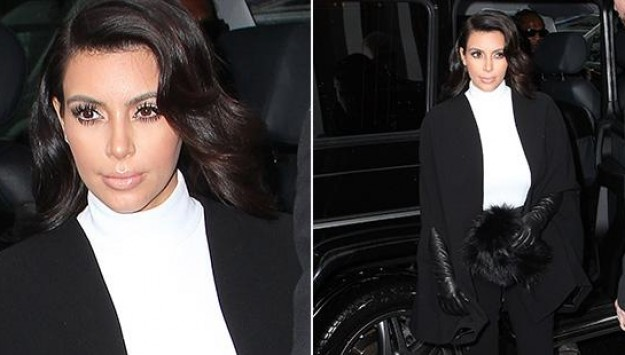 Kim Kardashian is Bringing the Turtleneck Back