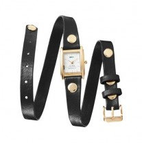 La Mer Triple Wrap Watch - Black