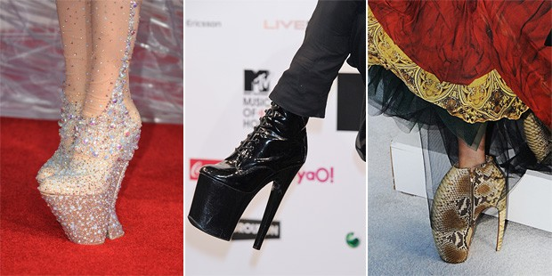 Extreme Footwear: Lady Gaga