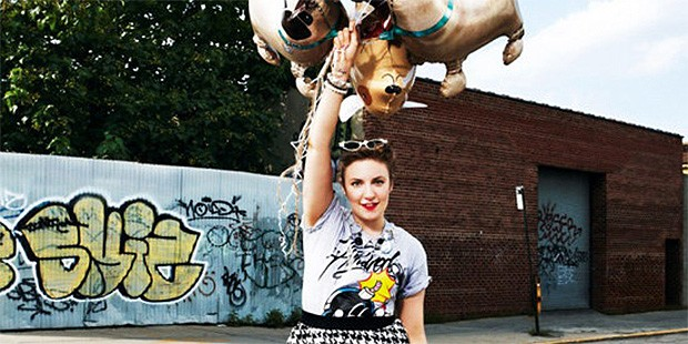 Lena Dunham for ASOS Magazine is a Perfect Mix of Everything We Love