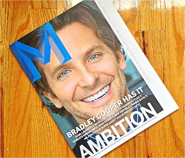 Our 4 Favorite Things About the New Men's Magazine, M - Also, Bradley Cooper Peeing