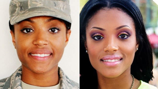 Makeup in the Military