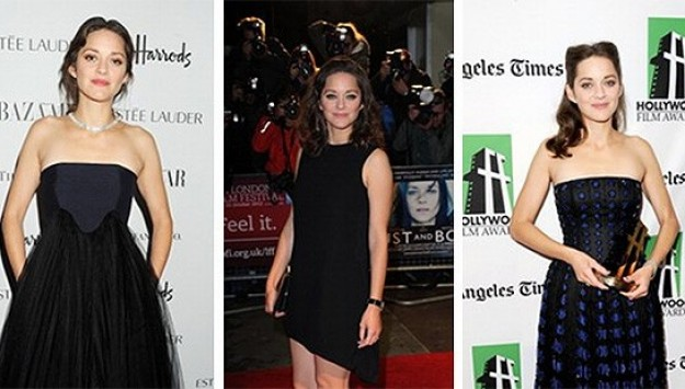 Marion Cotillard's Non Stop Marathon of New Dior Perfection