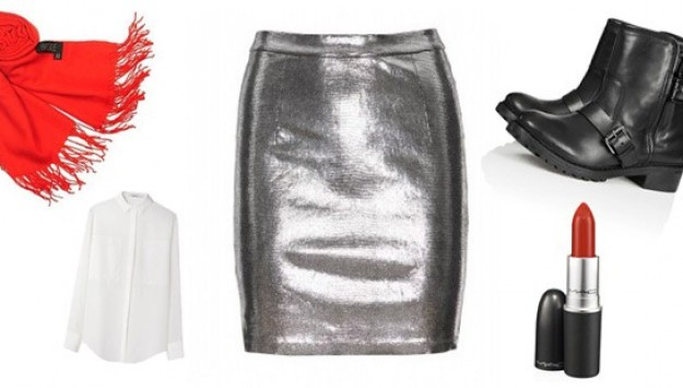 The One Thing You Need: A Metallic Leather Skirt (Plus 7 Key Items To Wear With It)
