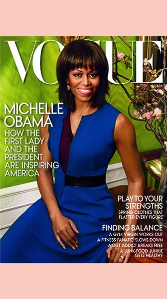 Michelle Obama Covers VOGUE For Second Time