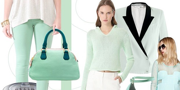 The List Report: Mint Green Is Spring's Sweetest Shade