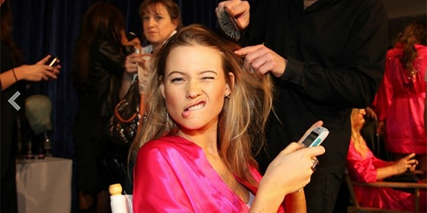 Funny Face: Models Caught Goofing Around!