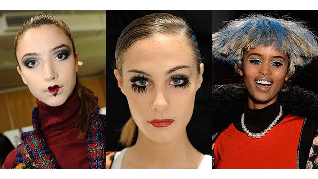 Fashion Week's Hair & Makeup Looks That Scare Us