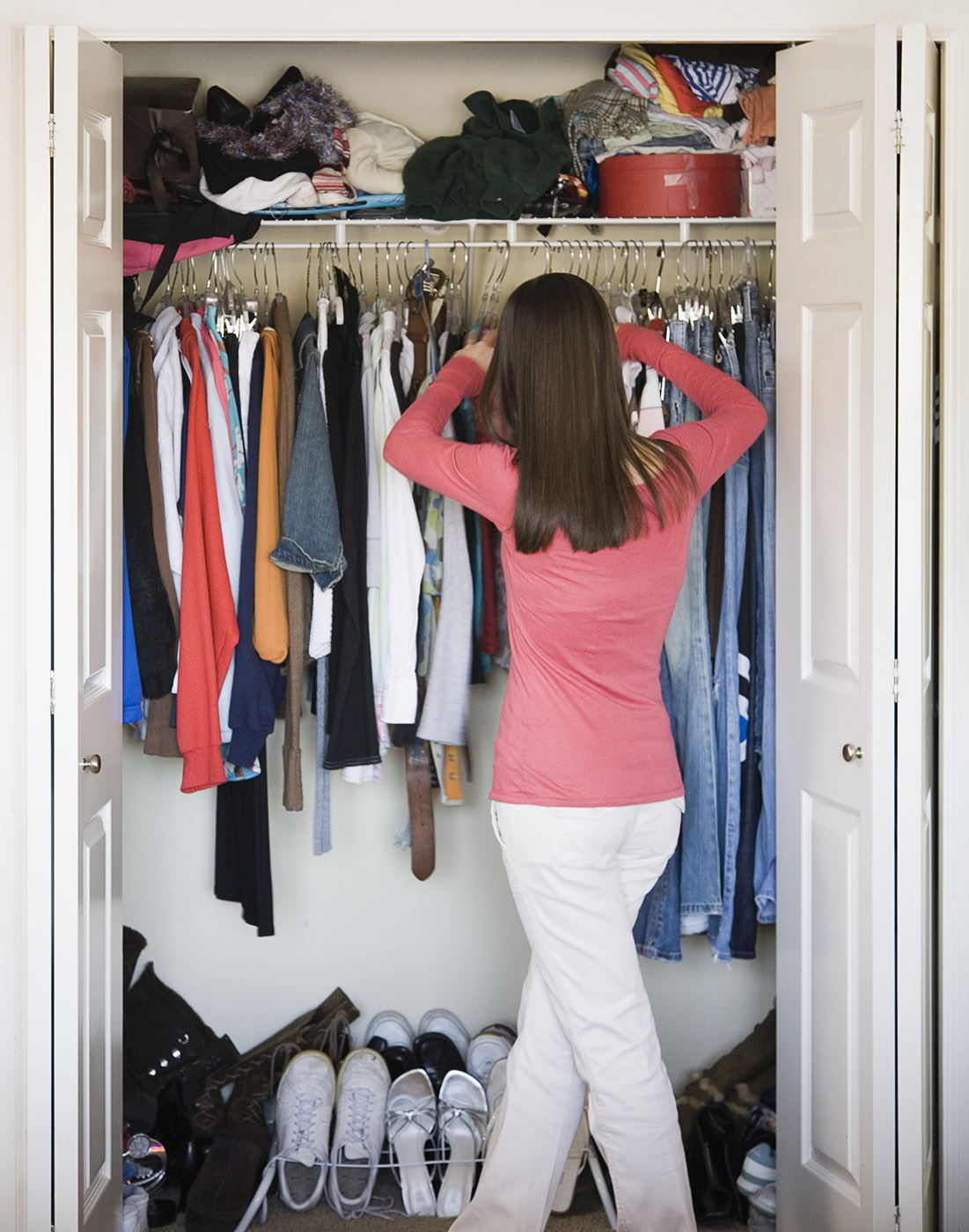 Spring cleaning tips for refreshing your closet aol for How to clean and organize your closet