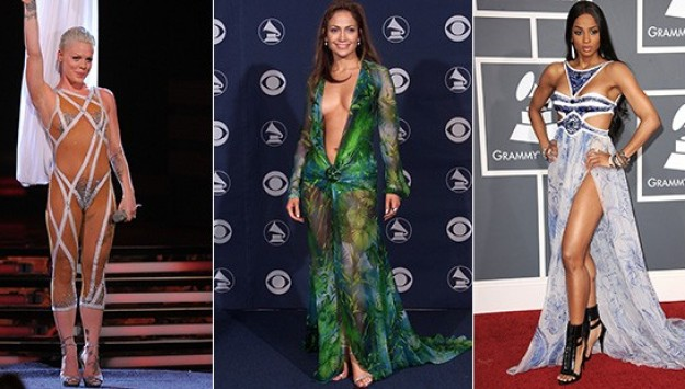 The Most Daring (and Risky!) Grammy Fashion of All Time