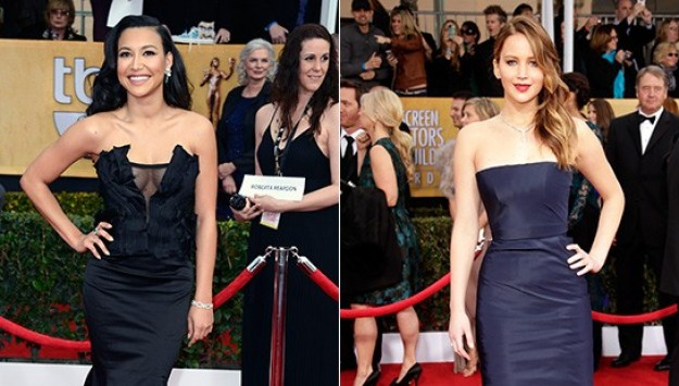 The List Report: Black and Navy at the SAG Awards