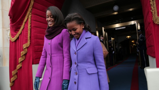 Top 9 at 9: Sasha and Malia Obama's Inauguration Looks