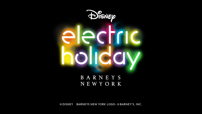 EXCLUSIVE: Watch Barneys New York and Disney Present Electric Holiday