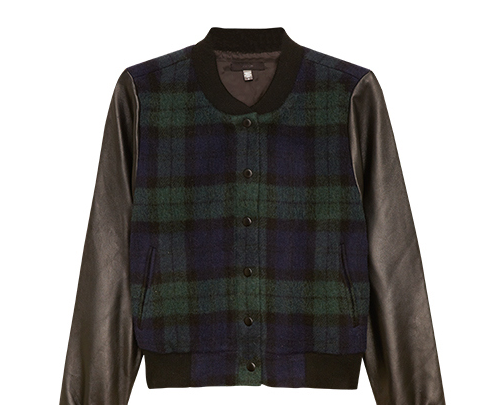 9 Essentials for Something Navy's Plaid and Pleather Look