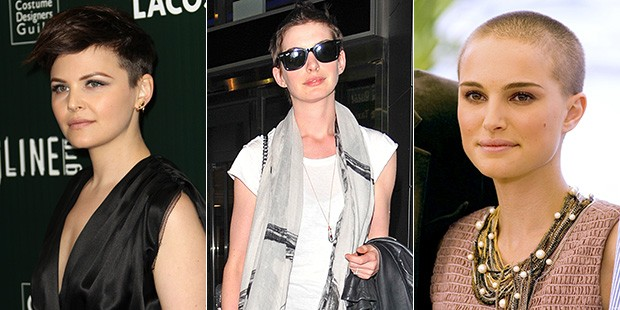 Taking It All Off: Stars Who Shaved Their Heads