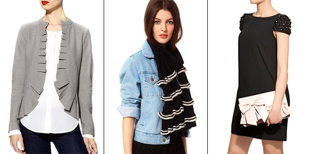 14 Sleek and Sophisticated Ruffles to Add to Your Shopping List