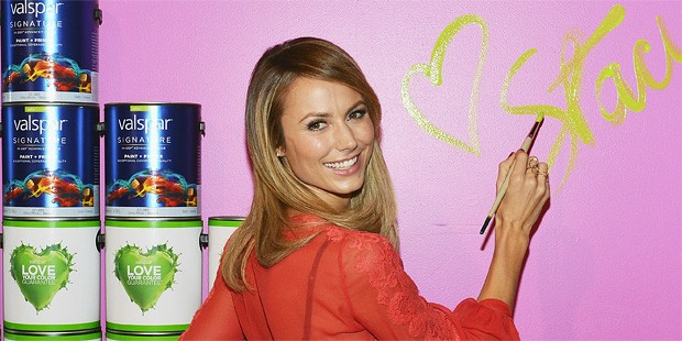 Stacy Keibler Dishes On Her Red-Carpet Style