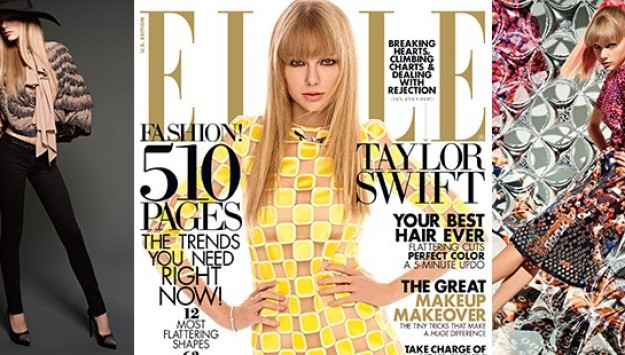 Taylor Swift Stuns on the Cover of Elle Magazine