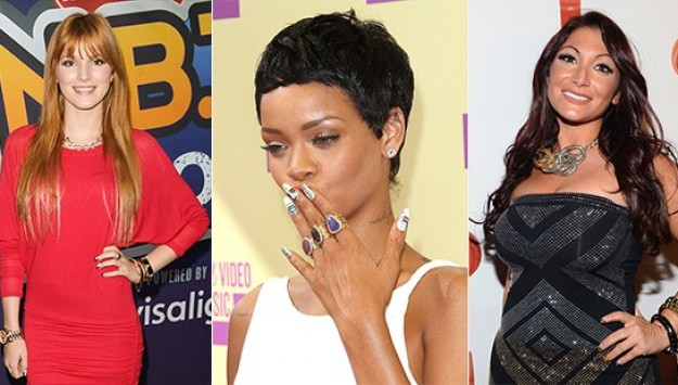 2012 Wrap Up: Worst Celebrity Nails