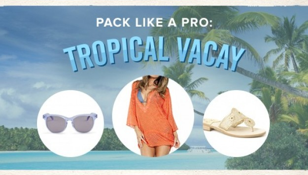 Pack Like A Pro: Tropical Vacay