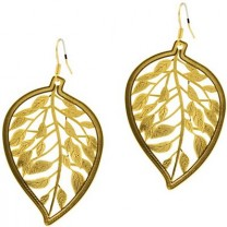 Bollywood Leaf Earrings