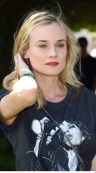 Look of the Week: Diane Kruger's Perfect Pout
