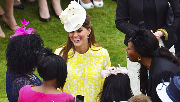 Kate Middleton Spotted with Growing Baby Bump after Weeks of Absence