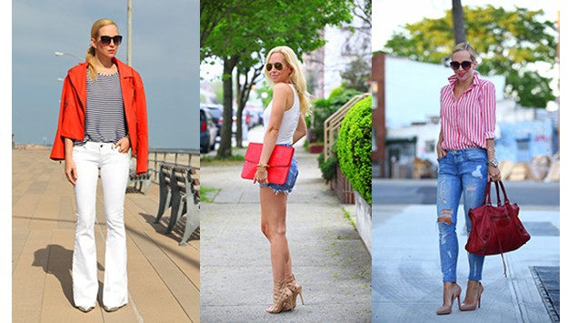 We've Got You Covered: Work Red, White, and Blue Into Your 4th of July Outfit