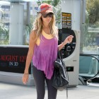 Workout Plan: Ashley Tisdale Inspires Colorful Gym Wear