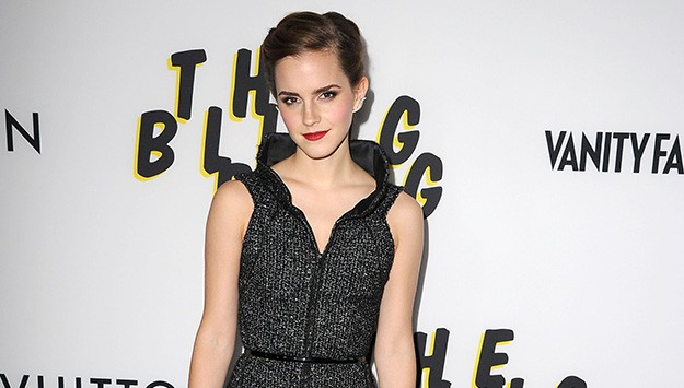 Emma Watson Sports a Braided Look at Bling Ring Hollywood Premiere