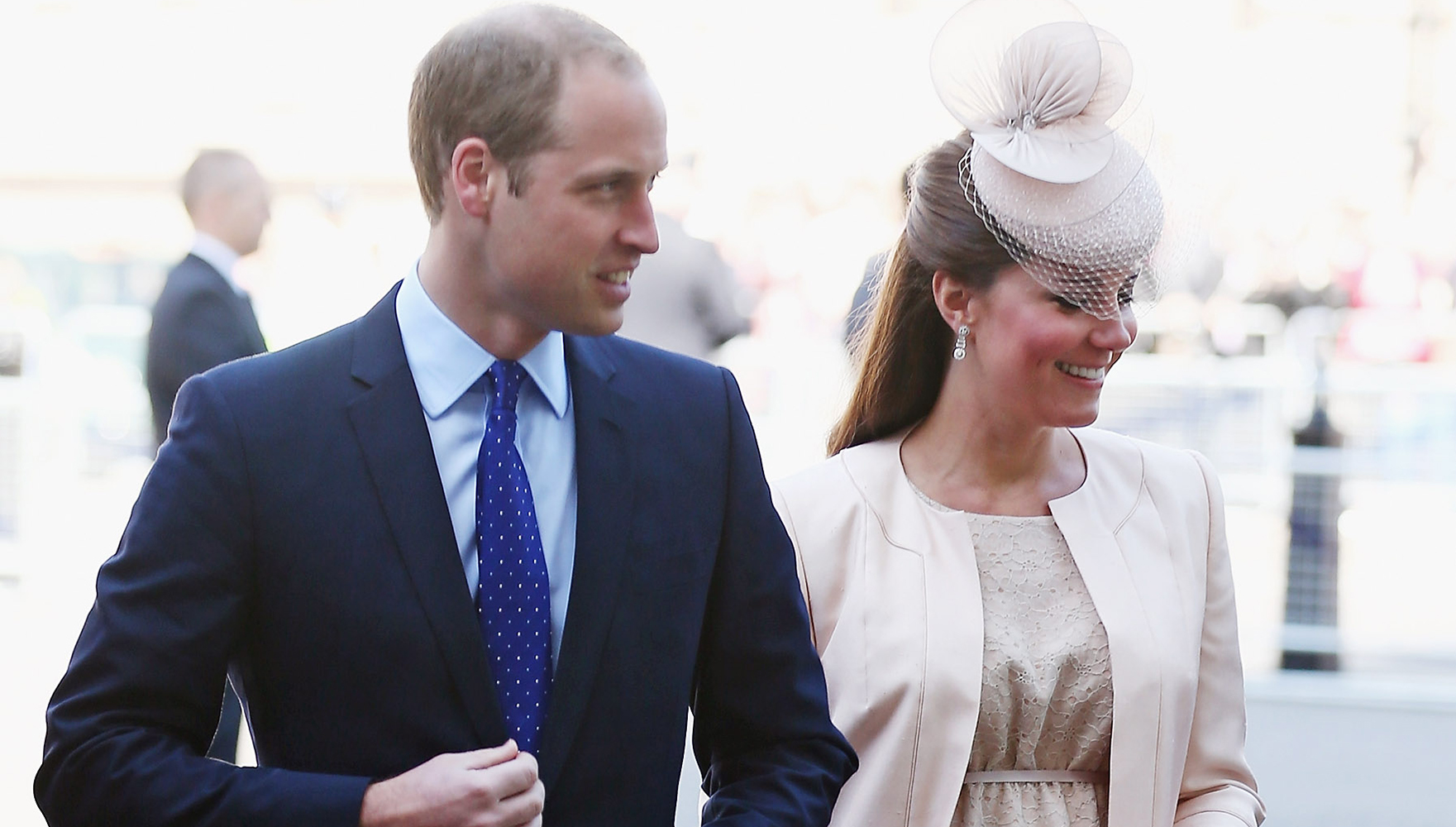 WATCH: Kate Middleton's Baby Bump On Display at the Queen's Coronation