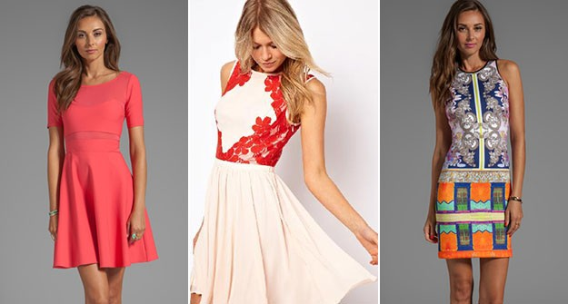 14 perfect dresses for a summer wedding for Dresses to attend wedding