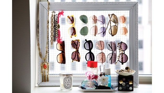 Wired Up: Make Your Own Sunglass And Accessory Storage
