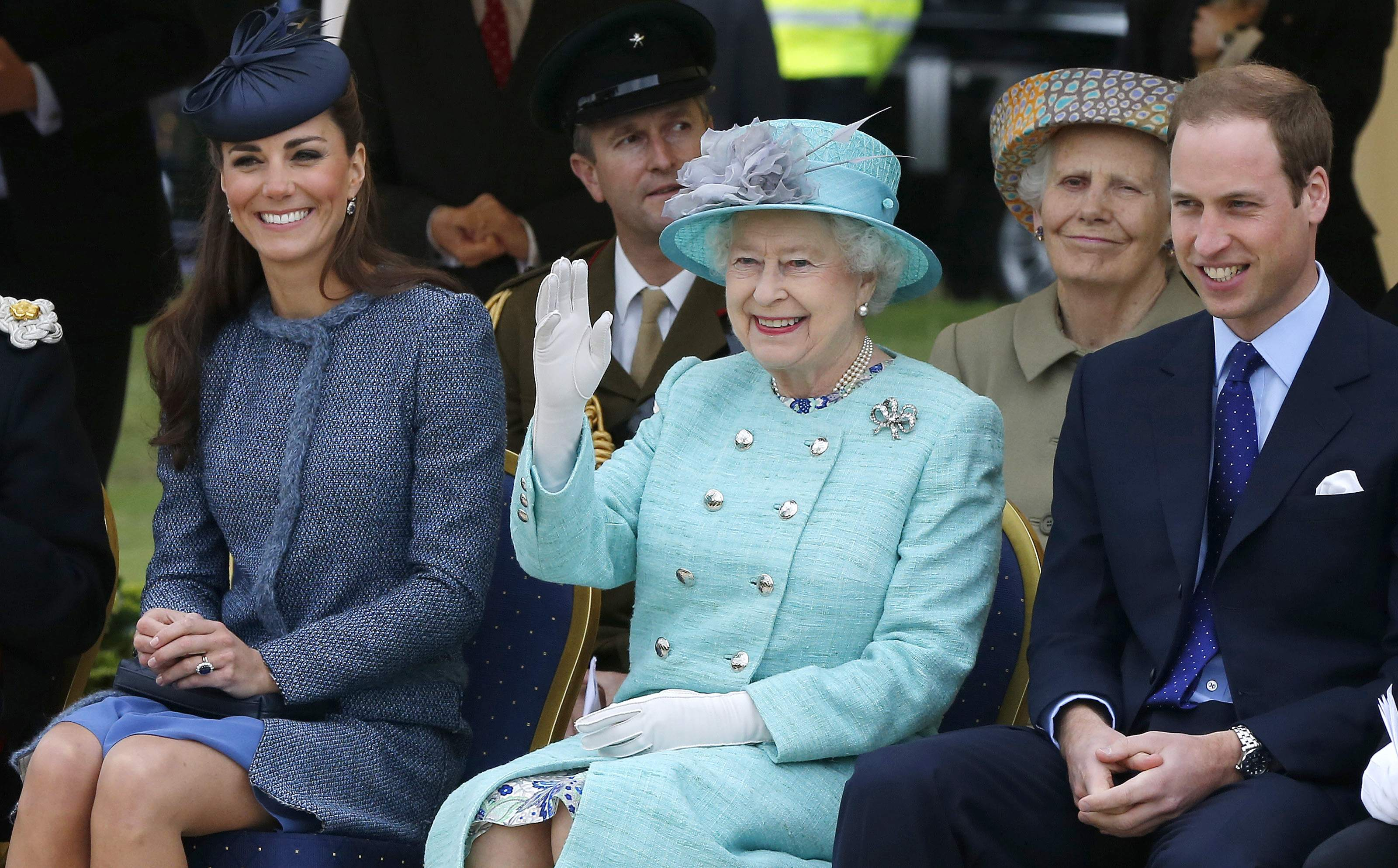 Queen Elizabeth Would Really Like Kate Middleton to Give Birth... Soon