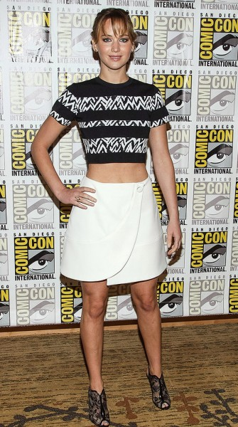 Get the Look: Jennifer Lawrence at Comic-Con