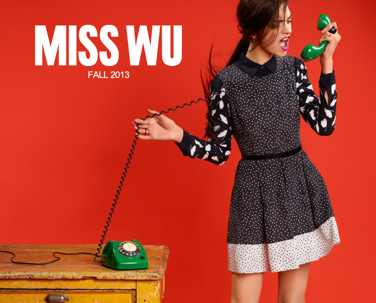 Miss Wu Fall 2013 Hits Nordstrom Today