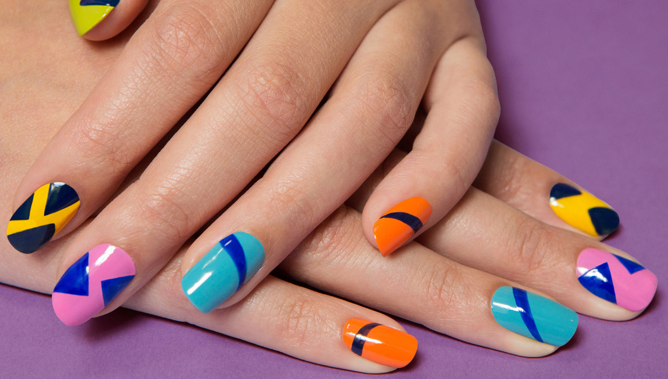 Mani Monday: Get Graphic with Summer's Must-Have Mani
