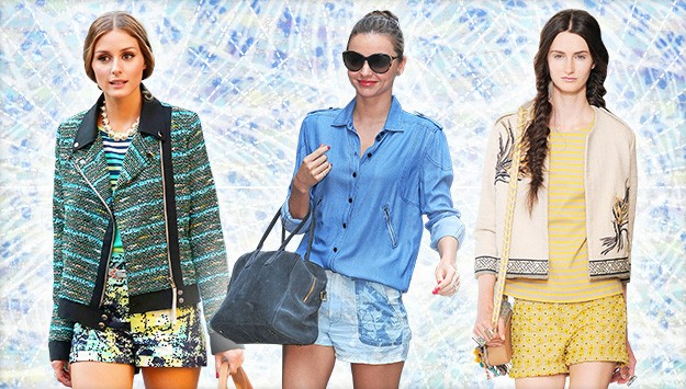 The Trend Report: Printed Shorts