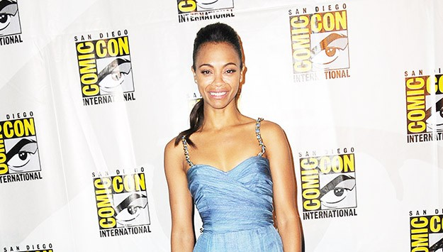 Who Wore What This Weekend: Zoe Saldana, Jessica Chastain, and More