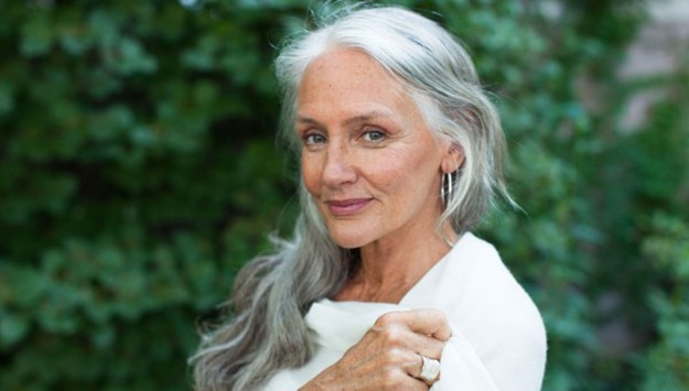 How this 63-year-old model stays gorgeous