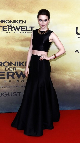 Look of the week: Lily Collins' cropped perfection